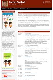 Sample Resume For Early Childhood Assistant by Instructor Resume Samples Visualcv Resume Samples Database