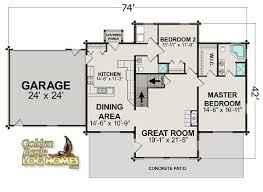 log home floor plans with garage golden eagle log and timber homes floor plan details log cabin