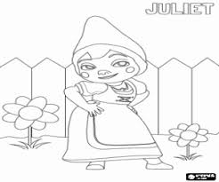 gnomeo juliet coloring pages printable games