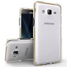 zizo pulse premium tpu samsung galaxy on5 clear gold