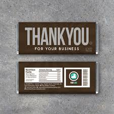 thank you for your business personalized hershey u0027s candy bar