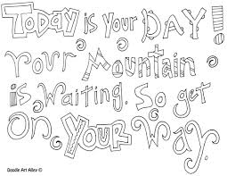 dr seuss coloring pages for one fish two with happy birthday