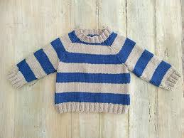 knitting pattern striped raglan sweater cardigan optional