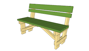 wooden park bench kits bench decoration