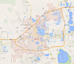 Florida Interstate Map by Lakeland Florida Map