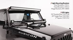 light gray jeep aries jeep wrangler jk light mounts and leds youtube