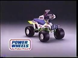 barbie jeep power wheels 90s power wheels commercial kawasaki ninja youtube