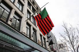 David Hammons African American Flag Those Marvelous Things Black Poets And Their Complex Of Visual