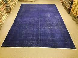 Purple Carpets Rugs And Carpets 8 9x13 Feet Overdyed Rug Overdyed Carpet Vintage