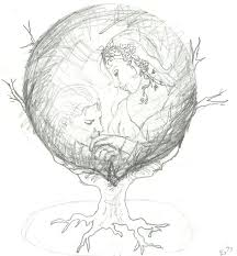pencil sketch crystal ball by judygoodwin on deviantart