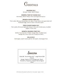 mompou tapas wine bar and lounge newark nj our menus