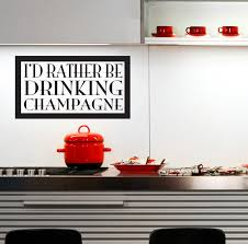 luxurious kitchen with wall quotes decals combined wall kitchen author