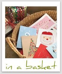 holiday card display ideas