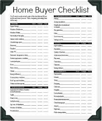 house checklist your hud home buying scorecard