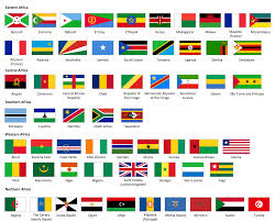 Afican Flag African Countries Union Of African Communities In Southwestern
