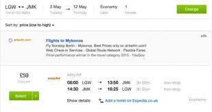 mykonos holidays 124pp