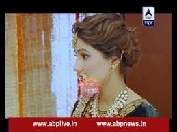 akshara wedding hairstyle gorgeous nath of akshara youtube