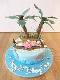 Tropical Themed Cake - celebration cakes archives page 7 of 17 the cakery leamington spa
