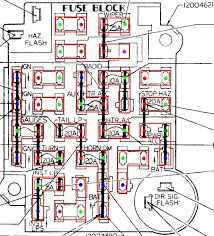 Body Shop Floor Plans by Gm Ato Style Fuse Block