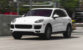 porsche suv 2017 2015 porsche cayenne s e hybrid test review car and driver