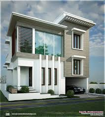 decorative flat roof home plan kerala design and floor plans this