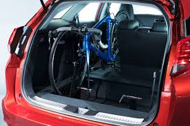 bike rack honda civic honda civic tourer now available with in car bike rack auto