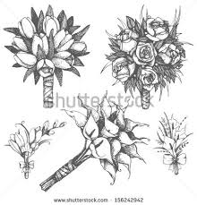 wedding flowers drawing elower wedding flower pencil and in color elower