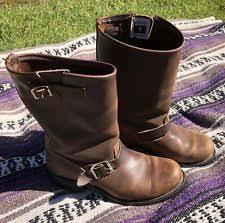 s frye boots size 9 frye buckle biker boots for ebay
