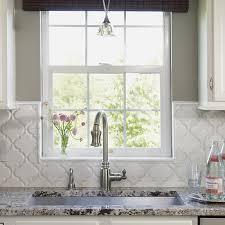 backsplash tile kitchen arabesque backsplash tiles design ideas