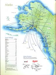 Maps Alaska by Alaska Air Route Map Adriftskateshop