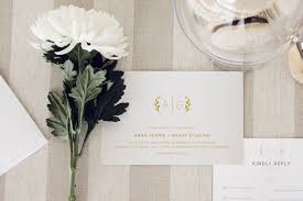 wedding invitations gold coast monogrammed minimalist wedding stationery suite the s tree