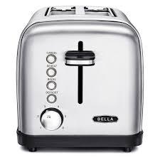 2 Slice White Toaster Classics 2 Slice Toaster Bella Housewares