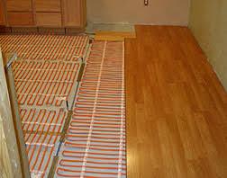 underfloor heat warm ribbon radiant floor heat