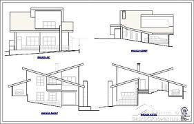 villa plan 2 bedroom country villa modern design rural villa plan