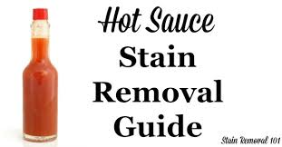 How To Remove Sauce Stains Sauce Upholstery And How To Remove Sauce Stains