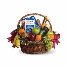 delivery gift baskets sweet tooth n fruits gift basket at send flowers