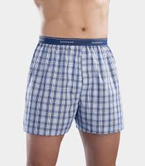 fruit of the loom s assorted blues boxer shorts 5 pack