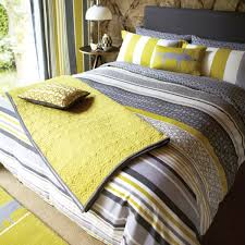 lace stripe bed linen luxury grey striped bedding by scion at