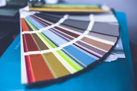color selection paint color brush out the online interior designers key step in