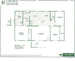 Double Wide Mobile Homes Floor Plans And Prices by Oak Creek Mobile Homes Floor Plans Floor Decoration