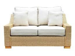 sofa rattan wicker rattan med 2 seat sofa