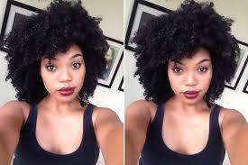 natural hair routine