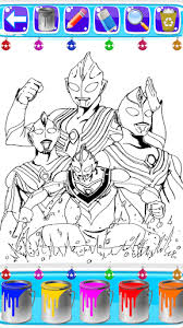 theme line android ultraman coloring ultraman of zero cosmos fans 1 1 apk android 3 0