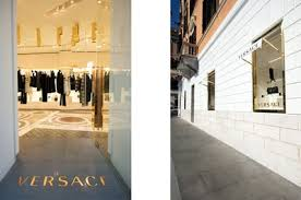 versace opens a new look store in rome global blue