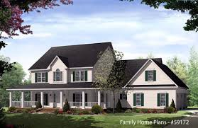 country homes designs large front porch house plans homes floor plans