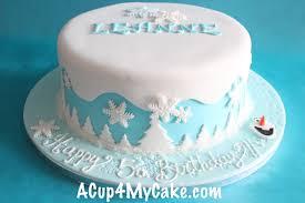 frozen cake acup4mycake