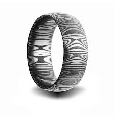 damascus steel wedding band jewelry by rhonda wedding rings wedding bands alternative