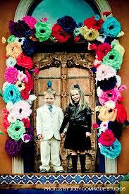 dia de los muertos decorations door decoration dia de los muertos themed wedding sedona wedding