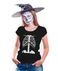 Womens Skeleton Costume Skeleton Shirt Womens Halloween Tee Shirts On Sale