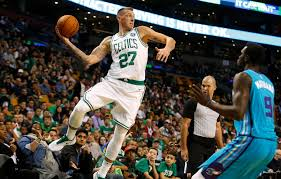 celtics floor plan daniel theis impresses in boston celtics debut